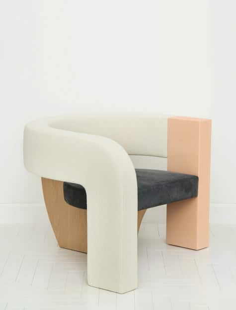 chair by KELLY BEHUN x NARCISO RODRIGUEZ